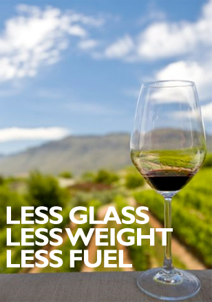 Less Glass, Less Weight, Less Fuel