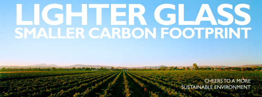 Lighter Glass | Smaller Carbon Footprint